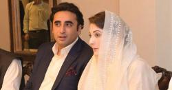 بلاول بھٹو کی مریم نواز کی اسلام آباد میں رائشگاہ پر آمد۔۔۔ملاقات میں سینیٹ انتخابات سے متعلق امور پر بات چیت