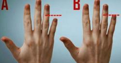 اگر آپ کے بھی ہاتھوں کی بیچ کی انگلی بڑی ہے تو یہ بات ضرور جان لیں کہ ۔۔۔