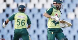 پاکستان نے جنوبی افریقہ کو نو وکٹوں سے شکست دے ڈالی
