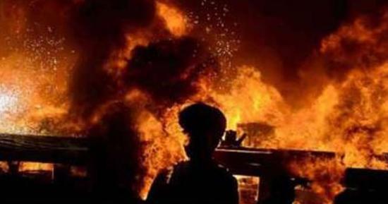 کراچی سولجر بازار میں دھماکا، متعدد افراد زخمی