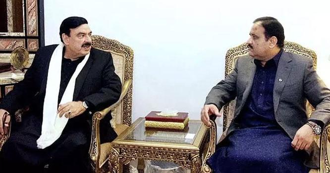 وزیراعلیٰ پنجاب سے شیخ رشیداحمد کی اہم ملاقات