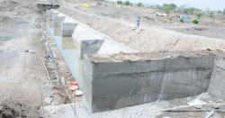 ملہال مغلاں میں نکاسی کیلئے نالے کی تعمیر کا کام شروع