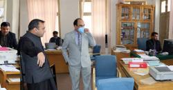 پروفیسرعطااللہ کی زیرصدارت کے آئی یوسینڈیکیٹ کا47واں اجلاس