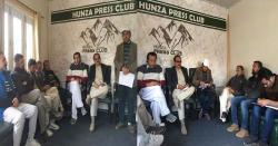 عالمی یوم صحافت کے موقع پر ہنزہ پریس کلب میں تقریب
