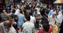دینہ ،شہر میں عید کی خریداری کیلئے آنے والوں کا رش