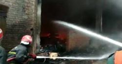 صوبائی دارالحکومت میں خوفناک آتشزدگی ۔۔ ہر چیز جل کر راکھ ہوگئی