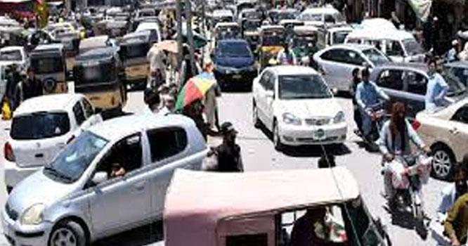 کہوٹہ مین بازار میں ٹریفک جام رہنا معمول بن گیا