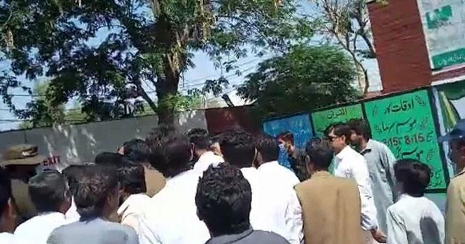 خوشاب ضمنی انتخاب: نون لیگی، PTI کارکنوں میں جھگڑا