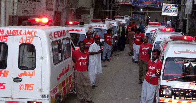 حیدر آباد میں 30 پولیس افسران جاں بحق
