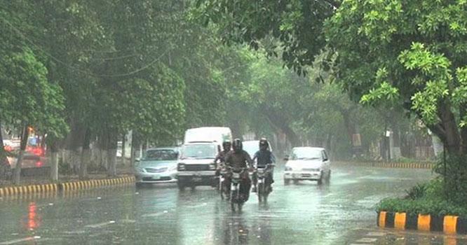 محکمہ موسمیات کی منگل کو لاہور میں بارش کی پیشگوئی