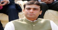 عمران نیازی کا تین سالہ دور اقتدار دھوکہ اور فریب ہے ،حمزہ شہباز