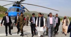 وزیر اعلیٰ عثمان بزدار کے ہیلی کاپٹر کو آندھی نے گھیر لیا