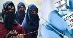 خیبرپختونخوا: کورونا ویکسین سے انکار پر 6 خواتین پولیس اہلکار معطل