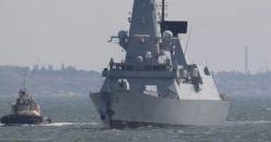 روس کا بحیرہ اسود میں برطانوی جہاز کو انتباہی فائر اور بمباری کا دعویٰ