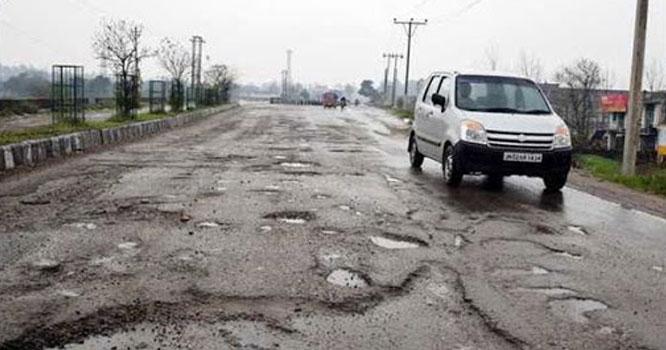 نمب رومال جنڈالی روڈ ٹوٹ پھوٹ کا شکار،حادثات معمول