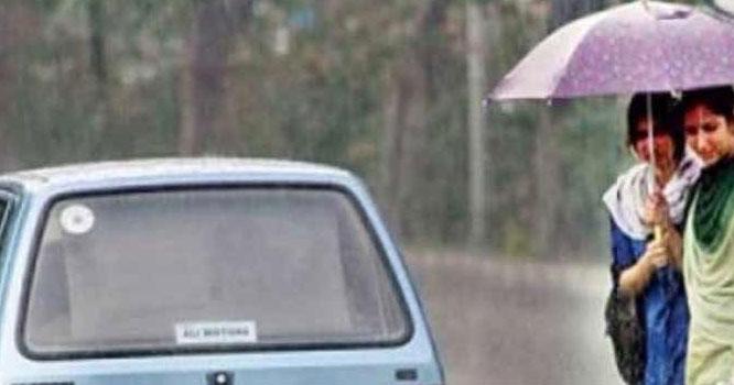 آج کہاں کہاں بارش ہوگی ،محکمہ موسمیات نے گرمی سے ستائے شہریوں کو بڑی خوشخبری سنادی