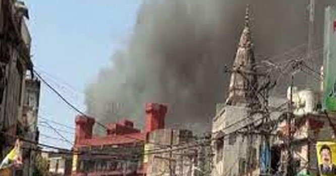 راولپنڈی،باڑا مارکیٹ میں خوفناک آتشزدگی،متعدد دکانیں جل گئیں،کروڑوں کا نقصان