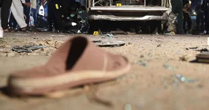 پاکستان کے اہم ترین شہر میں بم دھماکہ، سیکیورٹی فورسز کے 4 اہلکار شہید،امدادی ٹیمیں روانہ