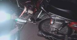 ہرن پور کے قریب موٹر سائیکل کو حادثہ ایک شخص زخمی، ہسپتال منتقل