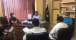 ڈی ایس پی  اظہر شبیر نے سائلین کے مسائل سنے
