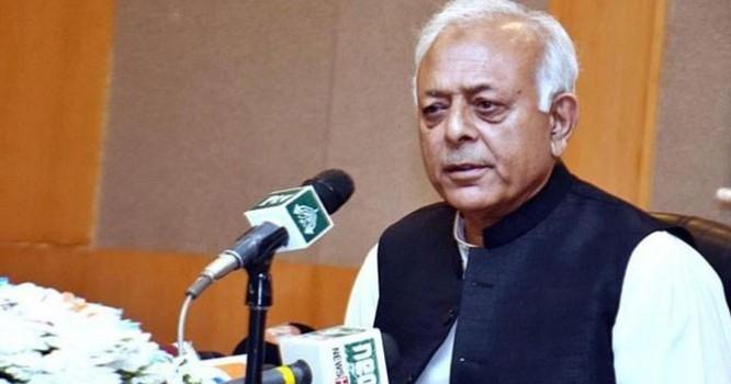 ن لیگ کی قیادت آج کل ملک دشمن لوگوں سے ملاقاتوں میں لگی ہوئی ہے۔ غلام سرور خان