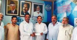 چیئرمین یونین کونسل ہوتھلہ راجہ عامر مظہر امیدوار برائے تحصیل ناظم کہوٹہ کی صدر پریس کلب کہوٹہ (رجسٹرڈ) راجہ عمران ضمیر جنجوعہ سے ملاقات