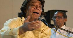 معروف کلاسیکی گلوکار استاد فتح علی خان بھی شدید بیمار ہیں