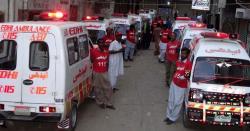 انا للہ واناا ناالیہ راجعون  پاکستان میںاندوہناک سانحہ ،درجنوںافراد اچانک موت کے منہ میںچلے گئے ، 300ساے زائد شدید زخمی