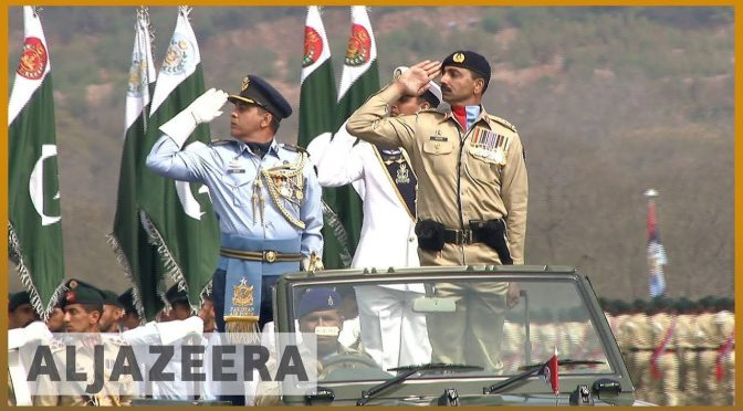 Pakistan national day: Military display amid standoff
