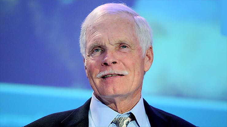 TED TURNER NETWORTH 2019