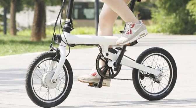 Xiaomi's New Electric Bike Has a 120KM Range with All the Bells and Whistles