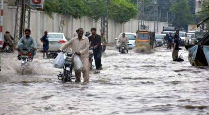 Week long spell of heavy rains forecast across the country